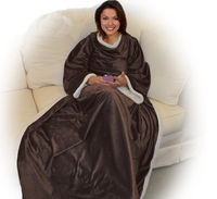 H-0159 New ideas of snuggie blanket with sleeves for winter