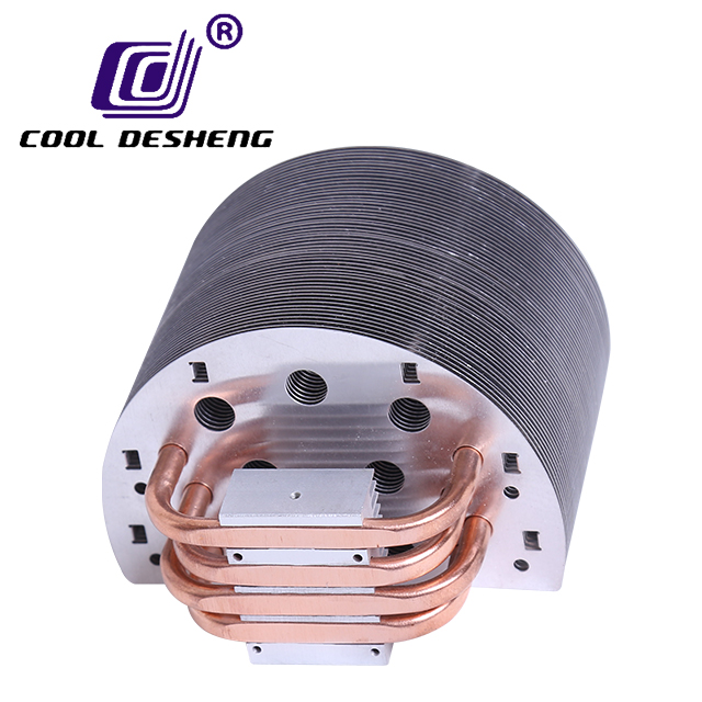 Computer CPU cooler PC fan RGB 120mm projector industrial equipment heat sink China aluminum heat pipe radiator unit