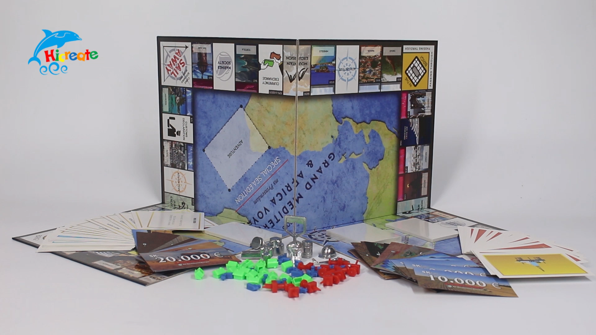 Hicreate - custom intellectual board game new products intelligent board games custom boardgame board