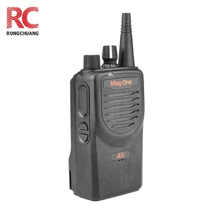Original Motorola digital handle two way radio encrypted walkie talkie Mag One A8i