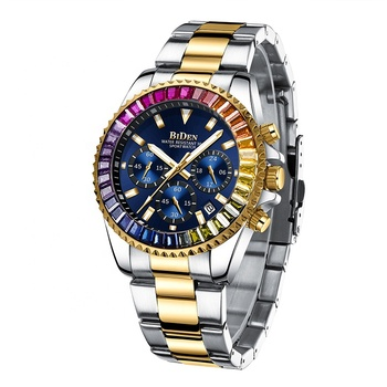 Newest design custom you own logo low MOQ men quartz watch of rolexables