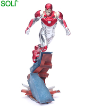 Film Charakter IronMan Action Figure Farbe Box Verpackung Custom PVC <span class=keywords><strong>Figur</strong></span>