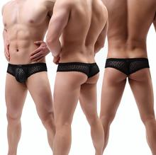 YUTATA mannen sexy see-through lace heren <span class=keywords><strong>ondergoed</strong></span>