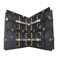 Building Material Formwork PP Plastic Concrete Formwork for Concrete Building Construction