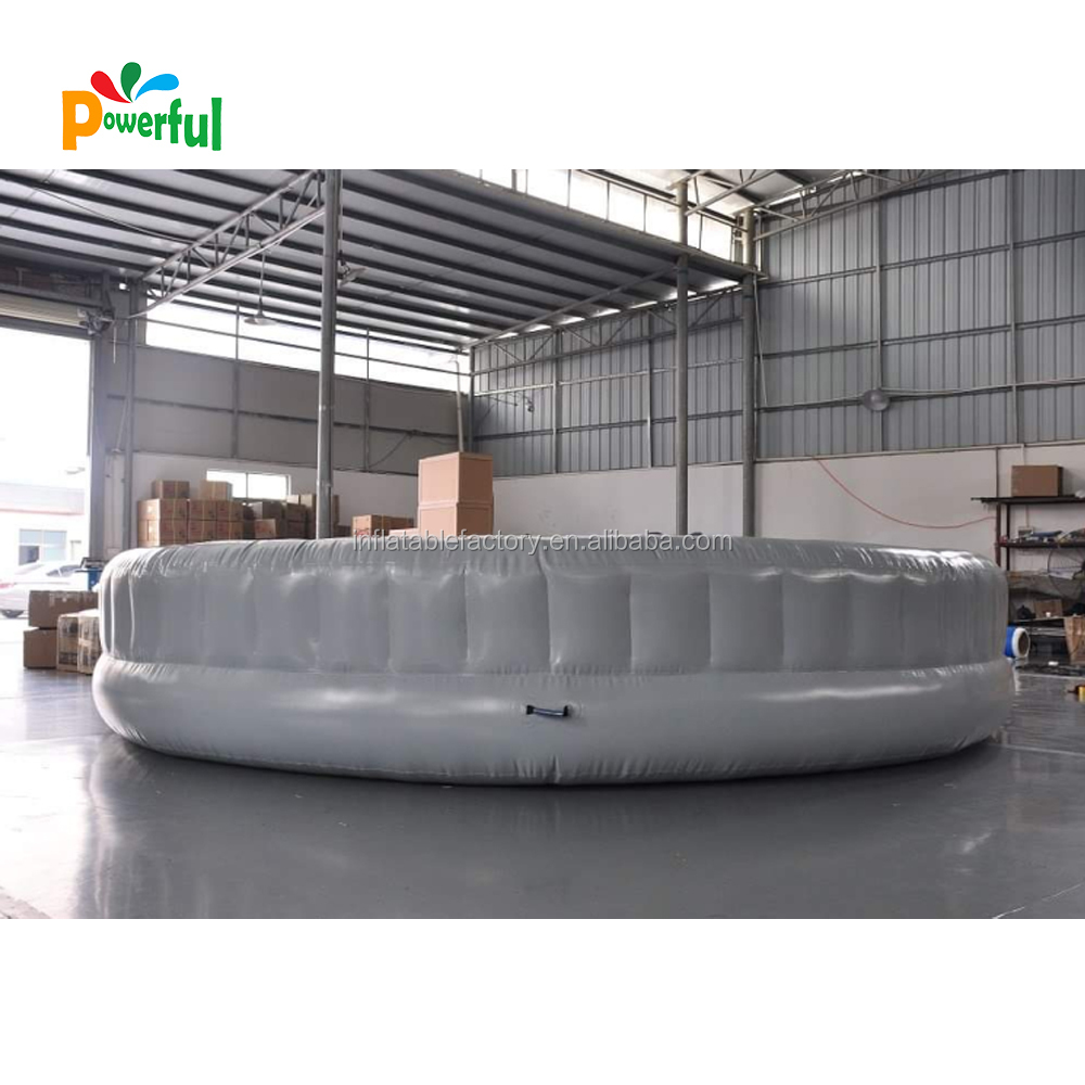 waterpark play equipment inflatable floating sofa island water tropical tahiti