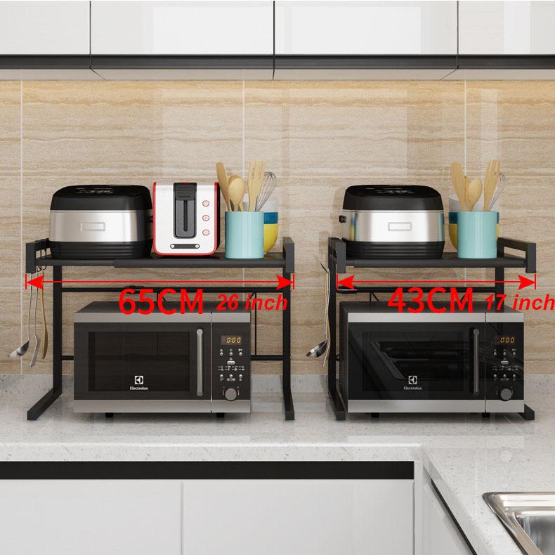 Adjustable Metal Shelving Wire Rack Microwave wire Shelf