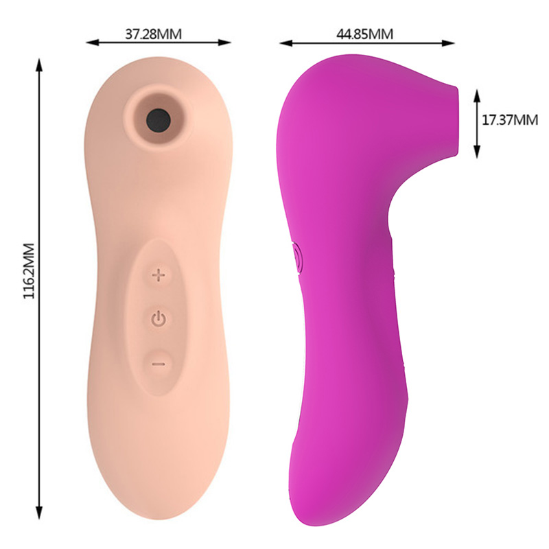 Sucking Clitoris Vibrator for Double Stimulation Clit Sucker Tongue Vibrator Stimulator for Oral Sex Sucking