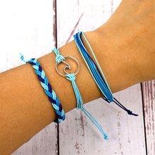 Винтажные веревочные браслеты от Vienkim для женщин и мужчин, регулируемый браслет в стиле бохо, дружеские полимерные камни друга, ювелирные из...(Китай)