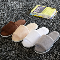 High Quality Fashion Sippers For 5 Stars Hotel Top Quality Supplier Cotton Disposable Slippers