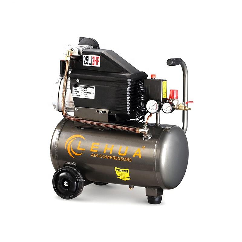 Portable oil free piston type high pressure electric air compressor de ar