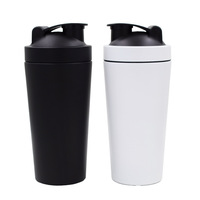 Beauchy 304 stainless Steel 750ML Metal Protein Shaker Bottle with own design