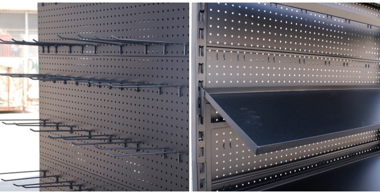 hardware product display rack/tool display rack/socks store display racks