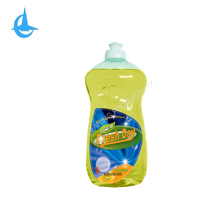 750ml de Limão concentrado fórmula suave com óleo essencial natural dishiwashing líquido