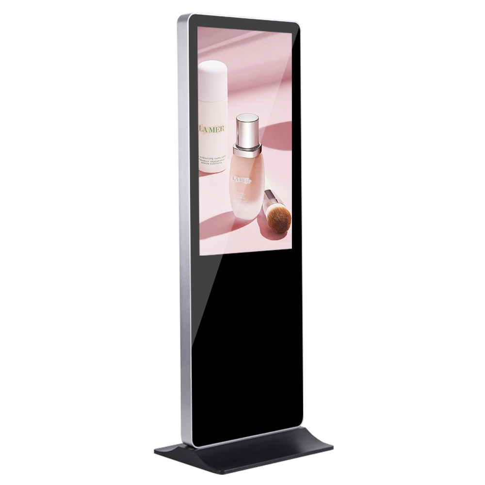 Android Lcd Floor Standing Kiosk Indoor Advertising Products Signage TV Screen Player Digital Display Screen Stand