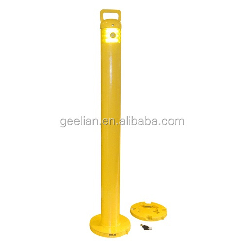street furniture traffic bollard,stainless bollards , Removable Reflective Road Safety Flexible Post