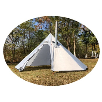 Mountaincattle Factory 2020 New White Color Stove Outdoor Backpacking Tipi Tent