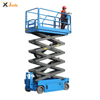 China 300kg Mini Manual Mobile Folded Hydraulic Platform Scissor Lift Table