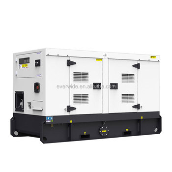 EPA certified 24kw silent electric diesel genset with engine model 1103A-33G