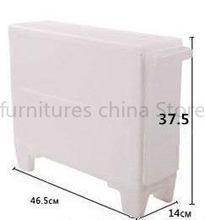 Многофункциональный зазор полки Мобильная стойка для кухни ванной комнаты ящики стеганые шкафы Туалет хранения с роликом(Китай)