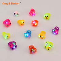 Party toys LED Light Up Ring Party Favors Glow in the Dark Party Supplies for Kid/Adults