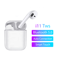 2019 New i11 TWS Earbuds 5.0 Wireless Headset Touch Headphones