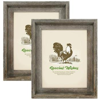Farmhouse Shabby Chic Design decorative photo frame for Wall Display