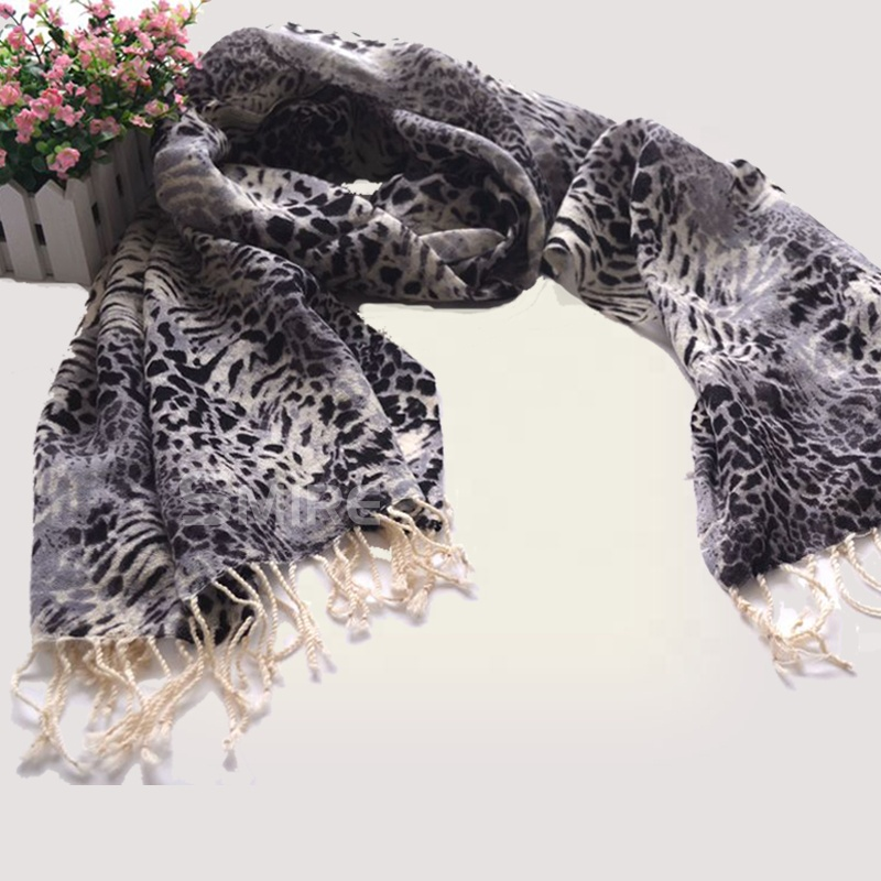 Inner Mongolia Cashmere <strong>Scarf</strong> with Fringe Print <strong>Merino</strong> <strong>Wool</strong> Torino <strong>scarf</strong> Collect