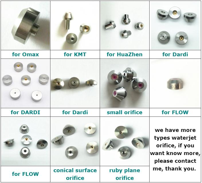 WHP professional waterjet HP cleaning nozzle orifice used in cleaning road