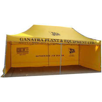 Gazebo trade show folding tent and awning