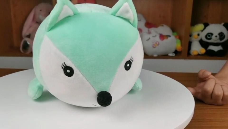 Boneka Lembut Layar Komputer Liar Hewan Koala/Bebek/Anjing/Kucing Hidup Mainan