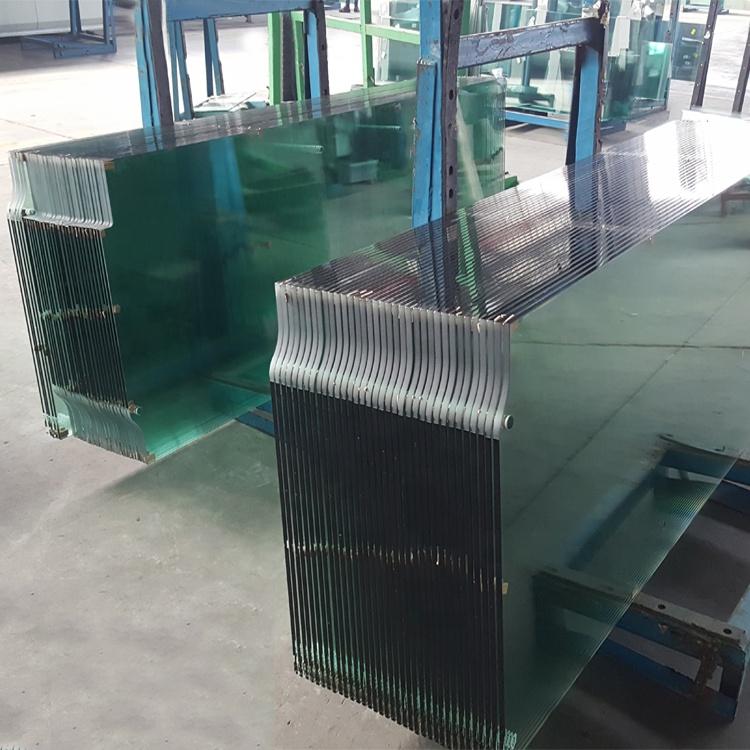 Jumbo size tempered glass wall panel price