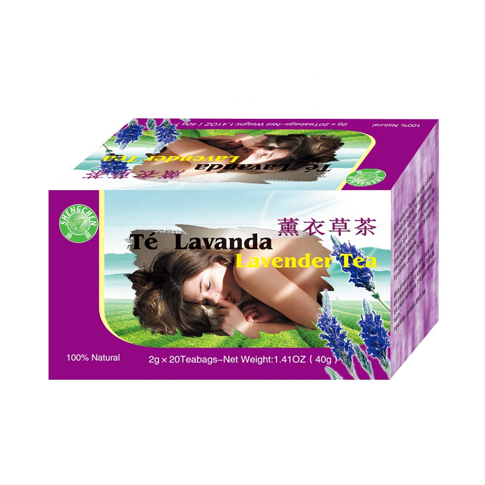 customized teabags and accept private label for organic lavender tea - 4uTea | 4uTea.com