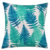 Decorative 80g Linen 18 x 18 inch Tropical Rainforest Plant Pattern Printed Cushion Cover