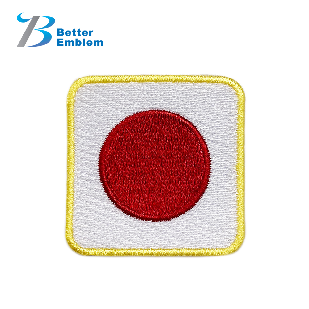 BETTER EMBLEM decorative patch custom logo patches for clothes country flag