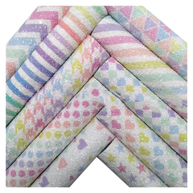 glitter mesh fabric,2 Pieces