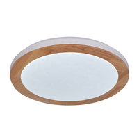 Wood Plafonnier Aux Del Classic Tuya APP Control LED Ceiling Lights Wireless Lamparas De Techo Customized RGB LED Ceiling Lamp