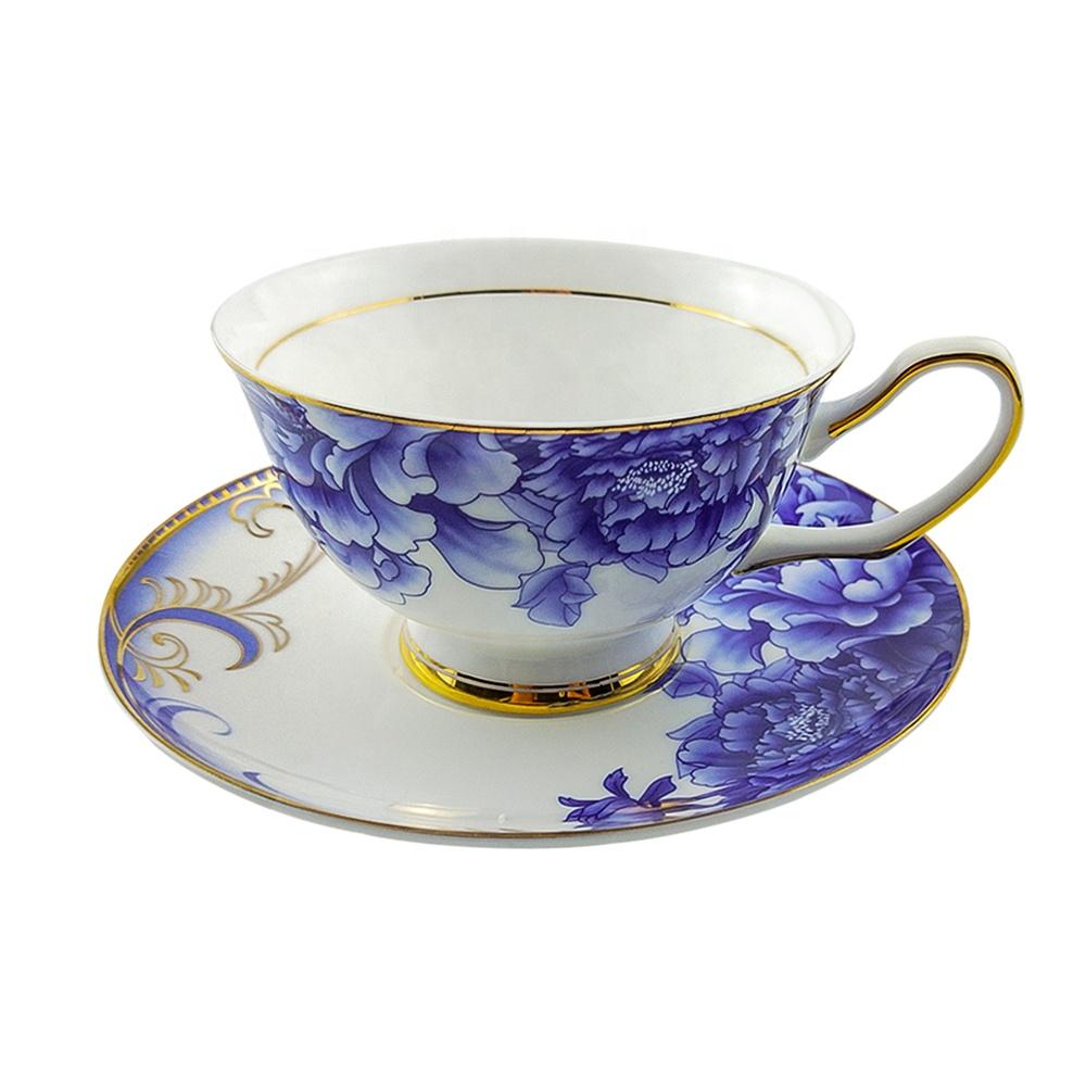 프로모션 맞춤형 세라믹 컵과 접시 중국 Bona 중국 차 세트