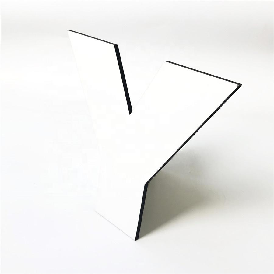 Signo de amor de Madera Mdf De Pared 3mm de espesor de corte láser Decoración en Blanco
