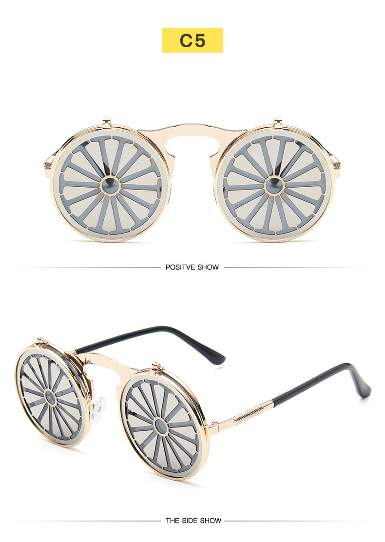 Fuqian Best large frame womens sunglasses customized for women-25
