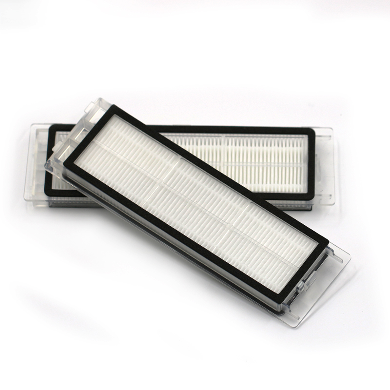 2pcs Hepa Sweeper Cleaner Filter for XIAOMI mijia Roborock S50 S51 spare parts for vacuum cleaner