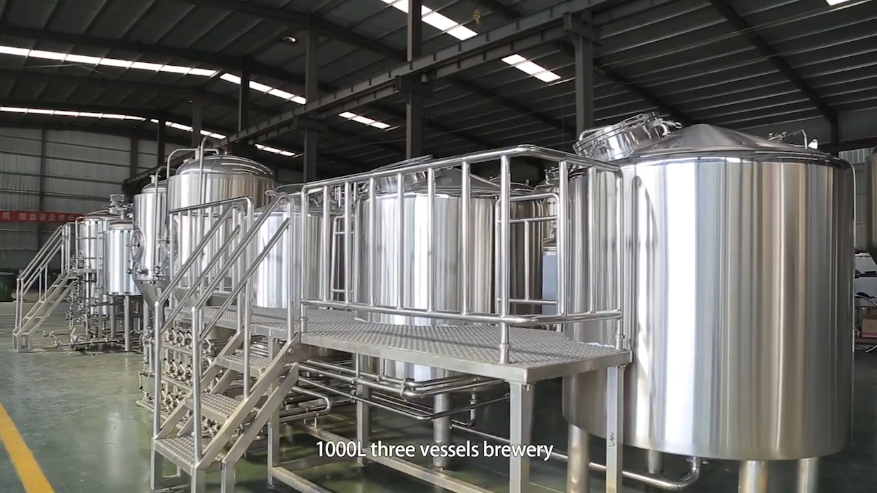 1000L 2000L 3000L 5000L büyük bira yapım ekipmanı/bira üretim ekipmanları bira fabrikası