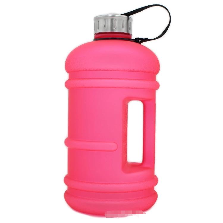 Custom 2.2 Liter Half Gallon 64 unzen BpA Free Large Water Bottle lichtdicht Water Jug