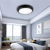 New smart modern led ceiling lamp with 12W,16W,switchable tricolor,3 years warranty