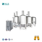 Factory top quality industrial brewery 500L 1000L 2000L 3000L brewhouse beer brewing equipment