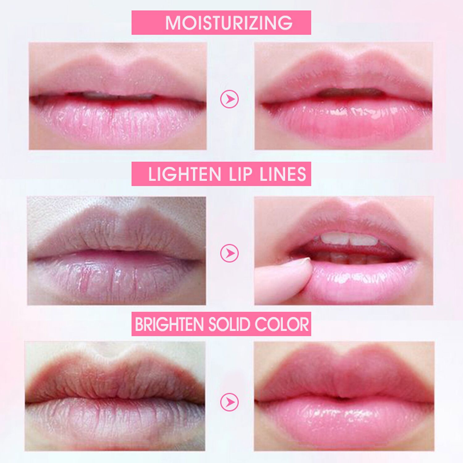 Crystal Collagen Hydrating Sleeping Natural Lip Plumping