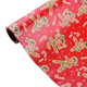 Personality Design Wholesale Small Kids Pattern Red Gift Wrapping Paper