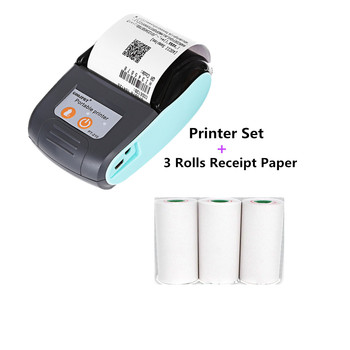 GOOJPRT MTP-3/PT210 Mini portable 80mm/58mm android Bluetooth thermal Printer with ESC/POS Protocol