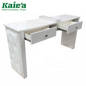 cheap manicure nail tables with fan