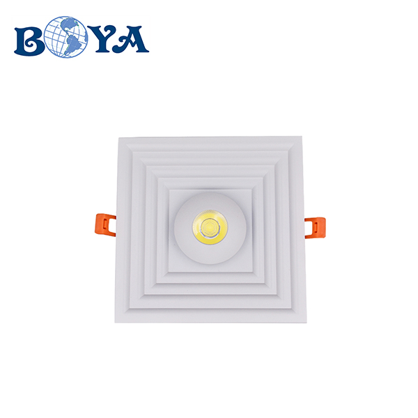 2020 new design white housing led panel light with aluminum material