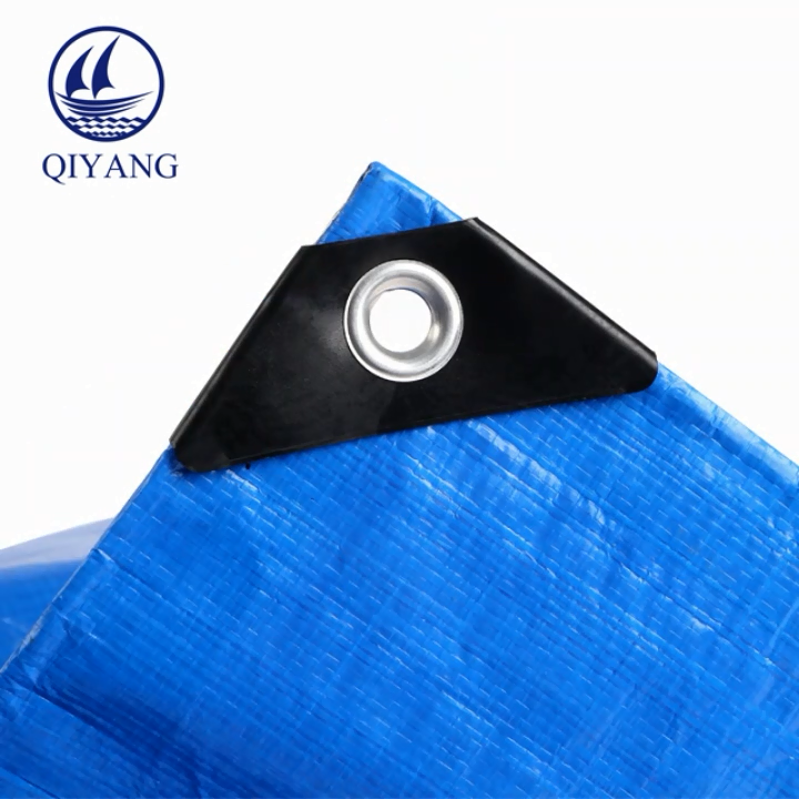 Reflective Waterproof Fabric Ultralight Tarp Plastic Eyelets Tarpaulin